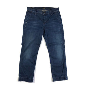 Citizens of Humanity Cropped Dark Jeans / 29